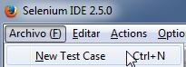 new test case
