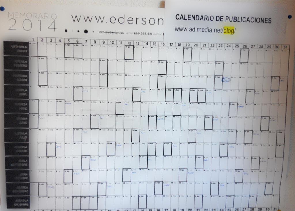calendario post