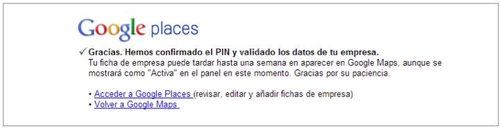 Google places petición de PIN