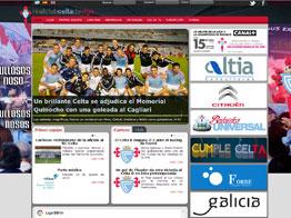 Web del Celta de Vigo