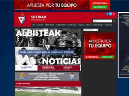 Web del Eibar